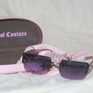 JUICY COUTURE Sunglasses Fluffy/s Pink